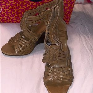 Tory Burch wedges, worn once